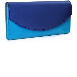 Goldmine Womens Blue Sky Blue Color Wallet c8f827164