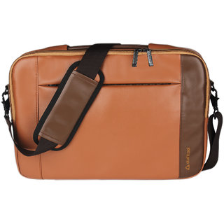 Stuffcool Travail Backpack for Macbook 13 upto Laptop 12 - Brown