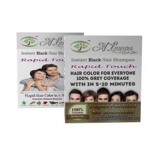 Rapid Touch Herbal Black Hair Shampoo
