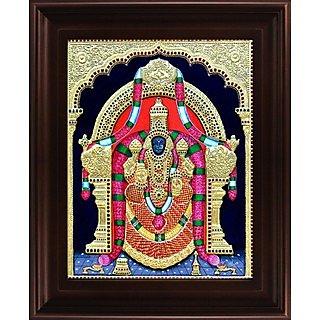 Myangadi Thayaar Padmavathi Tanjore Painting Myaz006-S2