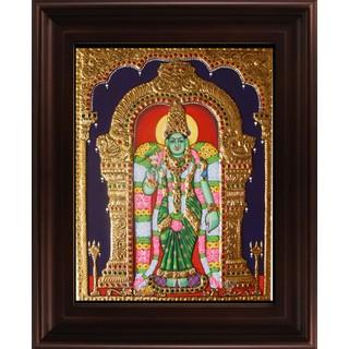 Myangadi Meenakshi Tanjore Painting Myaz037-S4