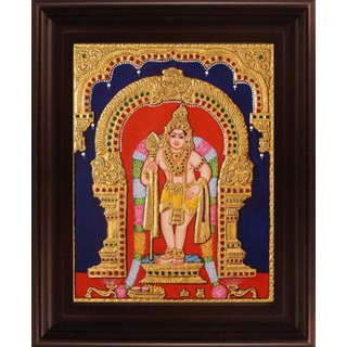 Myangadi Murugan Tanjore Painting Myaz116-S7