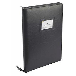 Trio UBF10 Urban Folio 10 Pockets With Pad FC (Set Of 1, Black)
