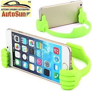 AutoSun OK Hands Design Flexible Clip Bracket Phone Stand Holder Mobile & Tablet