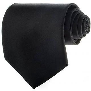 Ws Deal Regular Solid Tie (Black)