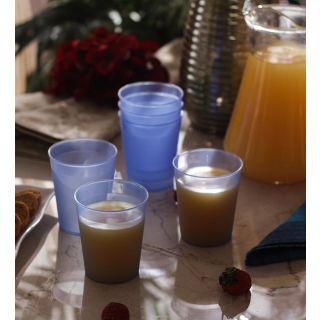 Tumblers/Glasses-Incrizma Multipurpose Glass 6 Pc Set - Turquoise