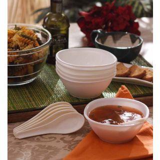 Soup Set-Incrizma 12 Pc Soup Set -White