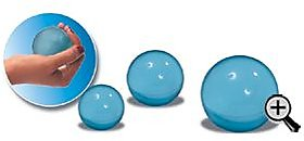 Acco Gel Ball/Stress Reliefing Ball Hard (Blue) Large
