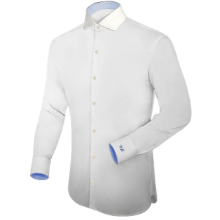Formal cotton White Shirt