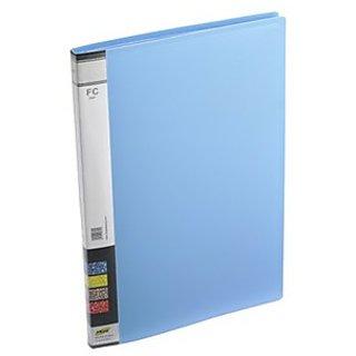 Trio 600F Display File 10 Pockets FC (Set Of 2, Blue)