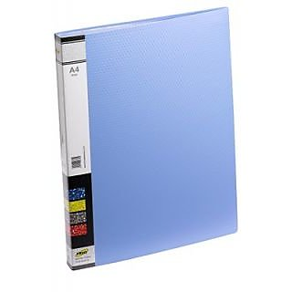 Trio 603A Display File 30 Pockets A4 (Set Of 2, Blue)