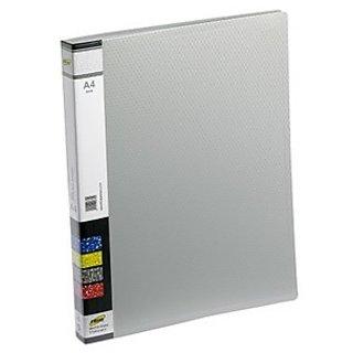 Trio 603A Display File 30 Pockets A4 (Set Of 2, Grey)