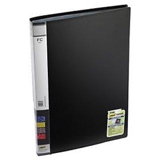Trio 603F Display File 30 Pockets FC (Set Of 2, Black)