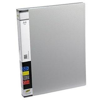 Trio 604A Display File 40 Pockets A4 (Set Of 2, Grey)