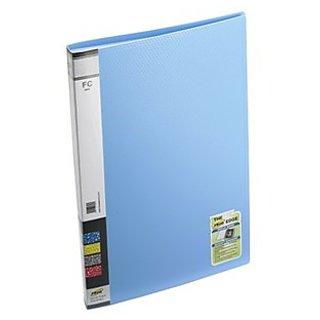 Trio 604F Display File 40 Pockets FC (Set Of 2, Blue)