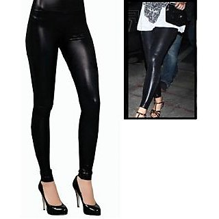 Black Plain Legging