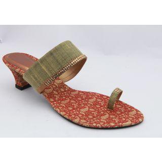 Get Glamr Women Antique Colour Sandals-3057