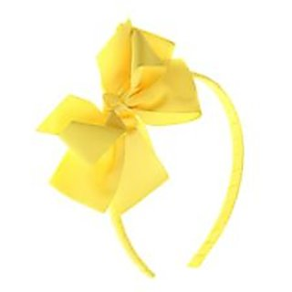 Stol'n  Hairband With Flower Bow Yellow