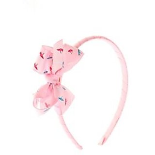 Stol'n  Hairband With Bow Light Pink