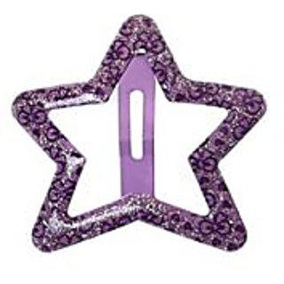 Stol'n  Flower Print Star Glitter Tic Tac Purple Design 2