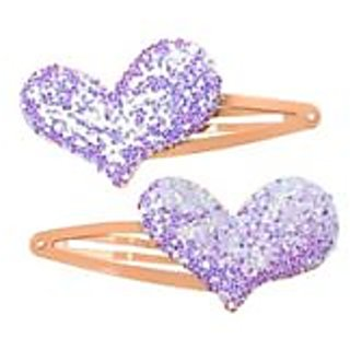 Stol'n  Orange Tic Tac Pins With Glitter Heart Purple