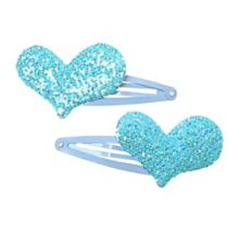 Stol'n  Light Blue Tic Tac Pins With Blue Glitter Heart
