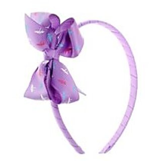 Stol'n  Hairband With Bow Purple