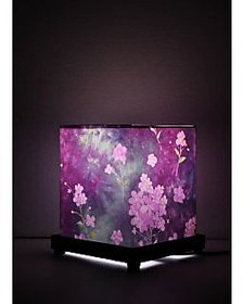purple flower Table Lamp