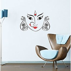 Walltola Wall Sticker - Maa Durga 5716 (Dimensions 70x50cm)