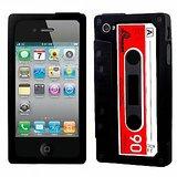 Retro Icassette Iphone Case For Iphone 4 & 4s - Black