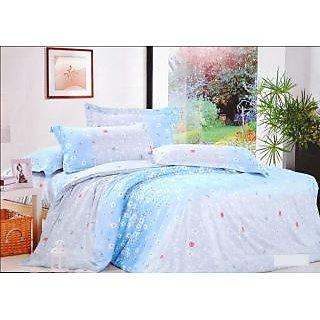 Valtellina Polycotton Floral Double Bedsheet (RBY-000018)