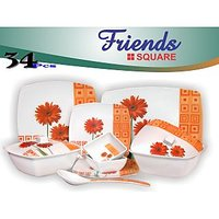 Friends Melamine 34 Pcs Dinner Set