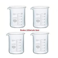 Beaker 100 ML Packing 4 Pcs