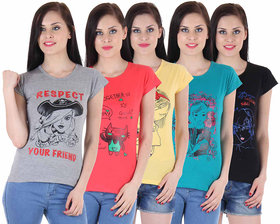 Pack of any 5 Trendy and Stylish T-Shirts
