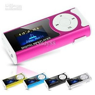 Digital Mp3 Player with LCD Display  Led Torch