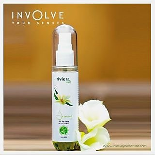 Riviera Mist (Jasmine) Spray Air Perfume & Car Perfumes From Involve Your Senses [Made In INDIA]