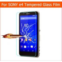 Anti-Scratch Tempered Glass Screen Guard For Sony Xperia E4 E4G Dual Protector