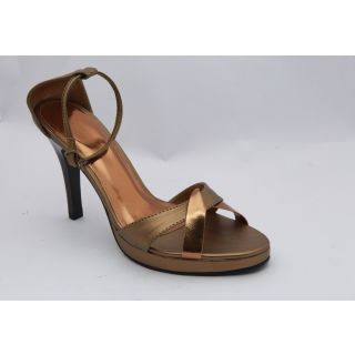Get Glamr Women Copper Sandals-0359
