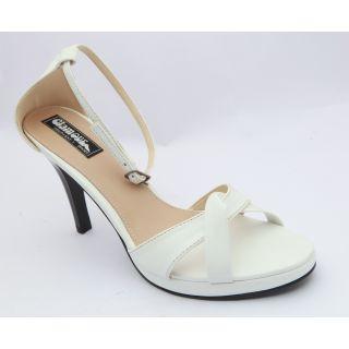 Get Glamr Women White Sandals-0359