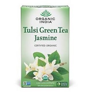 Organic India Jasmine Green 18 Tea Bags