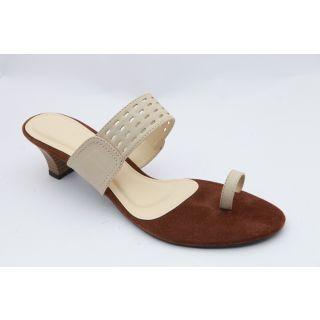 Get Glamr Women Beige Sandals-G3002