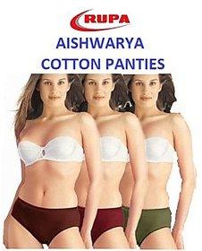 Rupa Aishwarya Premium Cotton Panties - Pack of 6