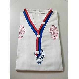 white designer kurti