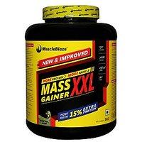 MuscleBlaze Mass Gainer XXL , Kesar Pista Badam ,  3 Kg