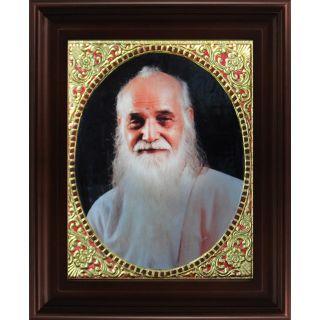 Myangadi Vedathiri Maharishi Tanjore Painting Myaz126-S11