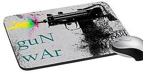 Mesleep Gun War Digitally Printed Mouse Pad   Pd-02-16