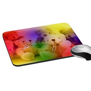 Mesleep Teddy Digitally Printed Mouse Pad   Pd-02-45