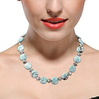 Pearlz Ocean Secret Passion Mosaic Beads 18 Inches Necklace