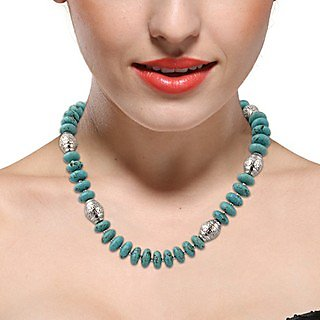Pearlz Ocean Soda Pop Mosaic Beads 18 Inches Necklace