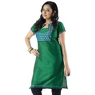 Cotton Green Women Casual Kurti HIFI29GRNH